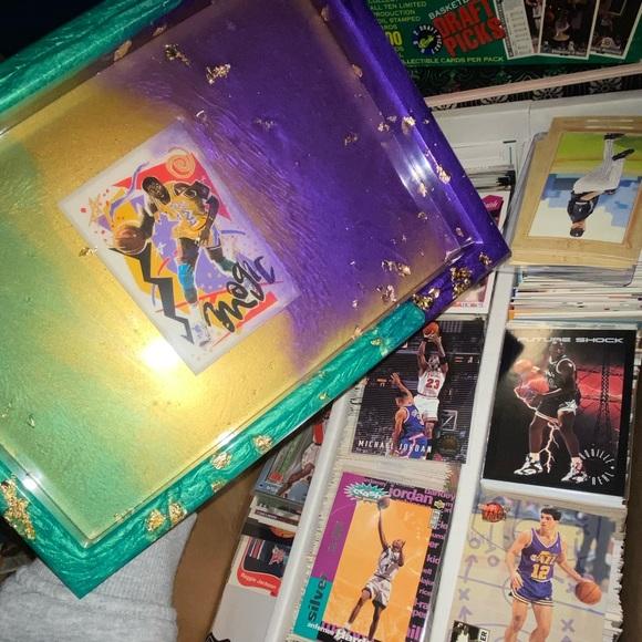 Magic Johnson Lakers Rolling Tray